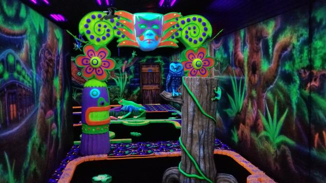 Bayou Magic Fun Center Black Light Golf