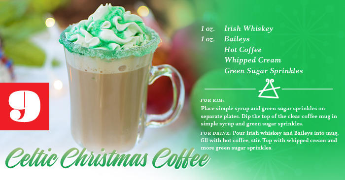 Celtic Christmas Coffee Recipe