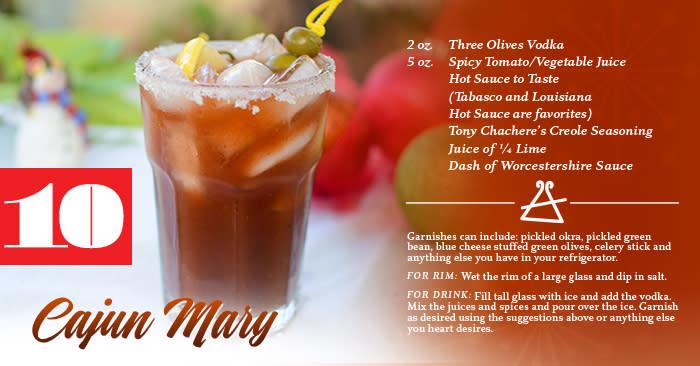 Cajun Mary Recipe