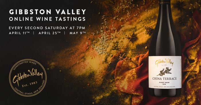 Gibbston Valley Virtual Wine Tasting Sessions