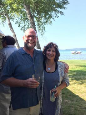 Graeme and Michelle