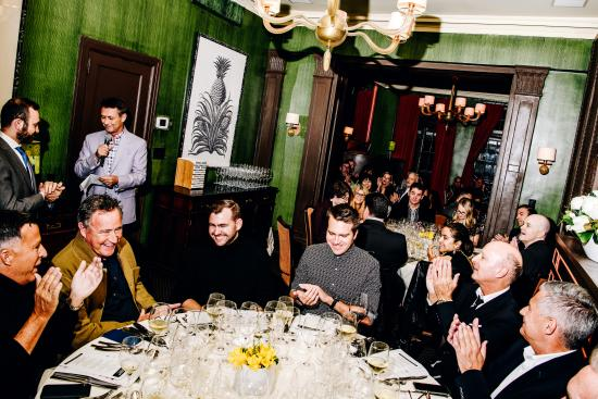 James Beard dinner NYC 2019