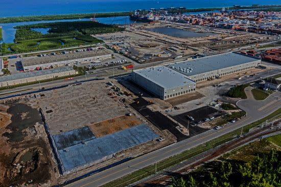 The Port's International Logistics Center will be the new home of Foreign-Trade Center No. 25.