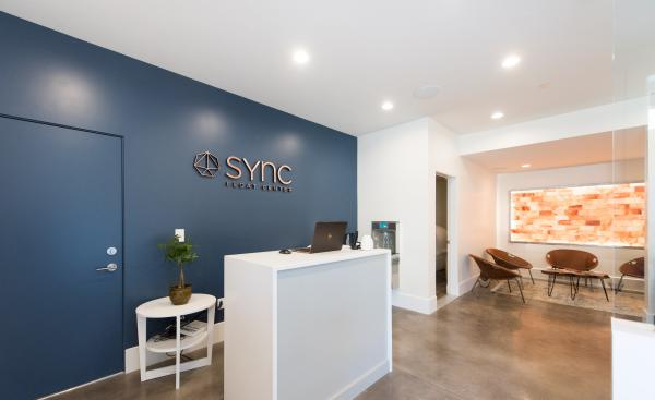 Lobby of Sync Float Center