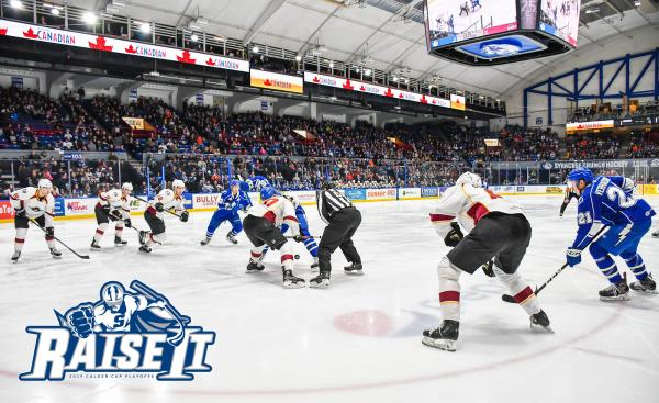 Syracuse Crunch Playoffs Round One versus the Cleveland Monsters