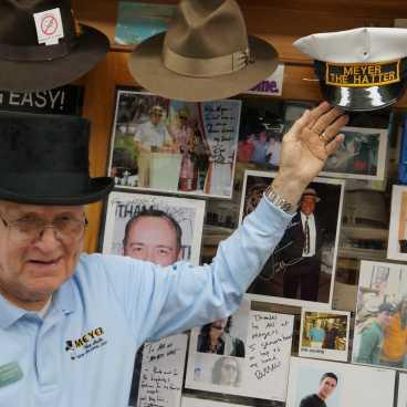 Sam Meyer -- 3rd generation hat man