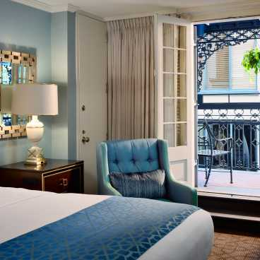 Royal Sonesta Bourbon Balcony King Room