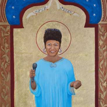 Soul Queen (Irma Thomas) limited edition fine art print by Cheryl Anne Grace