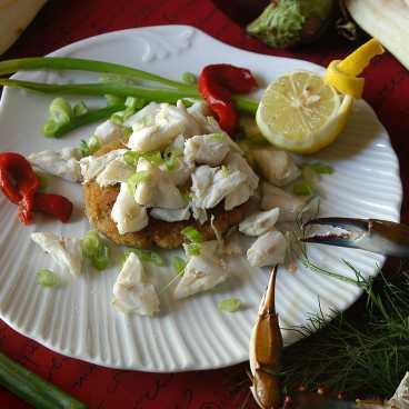 coolinary eggplant crabcake