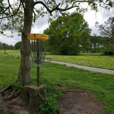 City Park Disc Golf Course - Hole 5