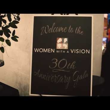 Women With A Vision's 30th Anniversary Gala