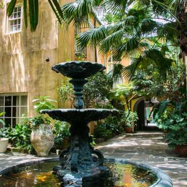 Soniat House Courtyard & Fountain