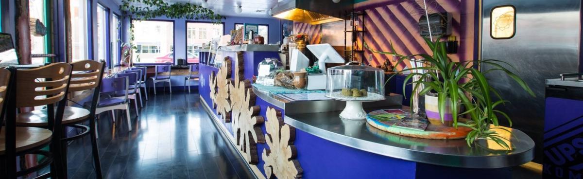 Interior of Thrive Restaurant
