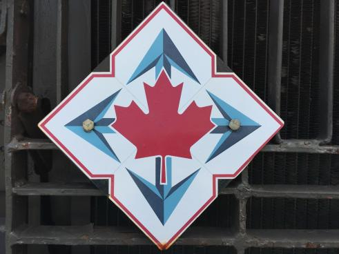 Canada proudly displayed at Royal Canadian Artfiller Museum at CFB Shilo, Manitoba