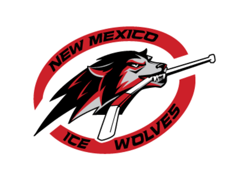NM Ice Wolves Logo