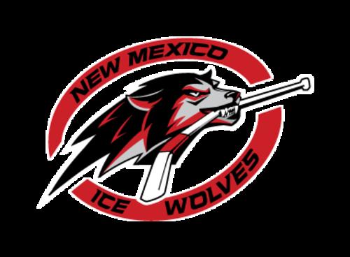 NM Ice Wolves Logo