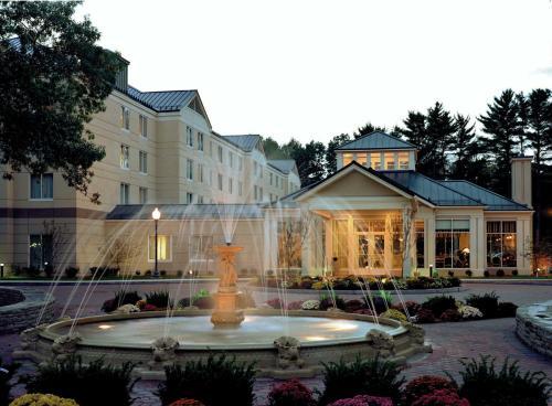 Exterior of the Hilton Garden Inn