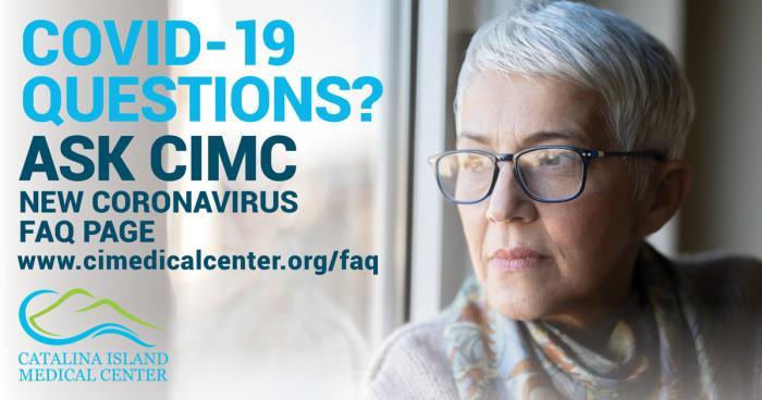 Catalina Island Medical Center - COVID-19 FAQ