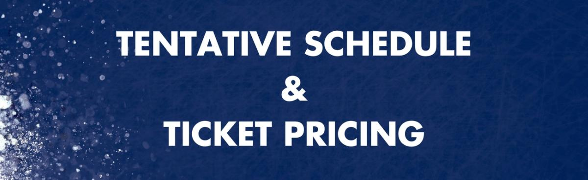 Schedule & Tickets Header