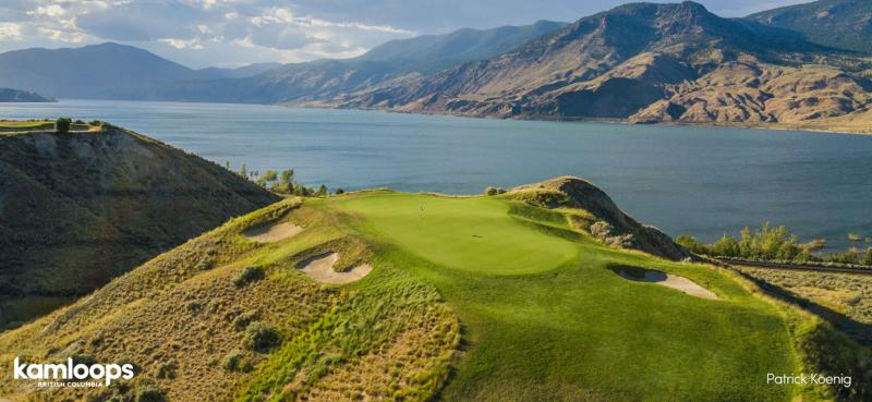 Tobiano Golf Course outside Kamloops