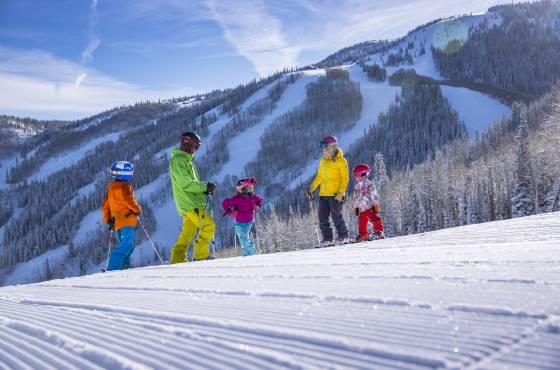 Skiing at Steamboat Resort