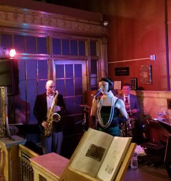Pop-up Speakeasy Jazz