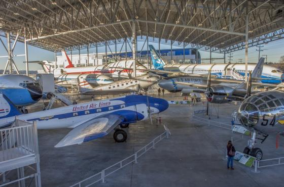 The Museum of Flight - Aviation Pavilion