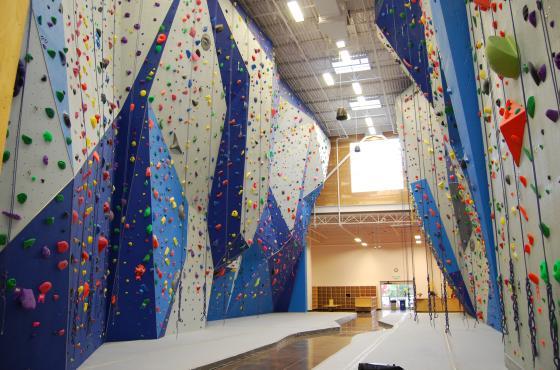 Stone Gardens Empty Gym