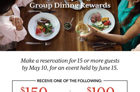 Spring Group Booking Reward