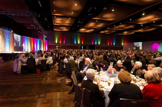 Benefit Luncheon in Center Hall