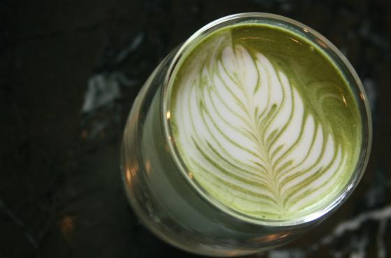 Cafe Cesura matcha latte