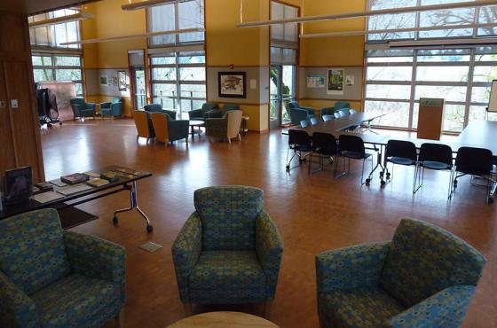 Mercer Slough Environmental Education Center Interior