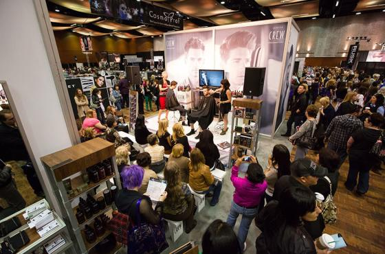 Tradeshow in Center Hall