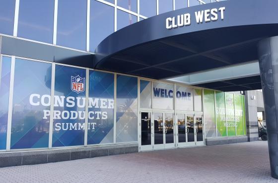 NFL Window Clings