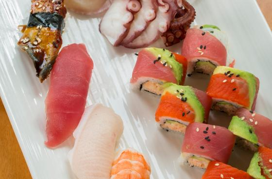 Seastar Sushi Plate
