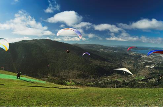 Tiger Mountain Paragliding Launch Site
