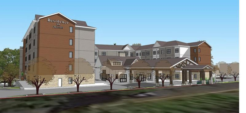 Marriott Residence Inn Rendering