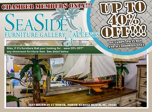 Seaside Furniture Gallery & Accents ad