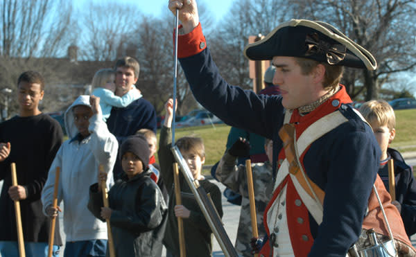 PRESIDENTS DAY - JOIN THE CONTINENTAL ARMY