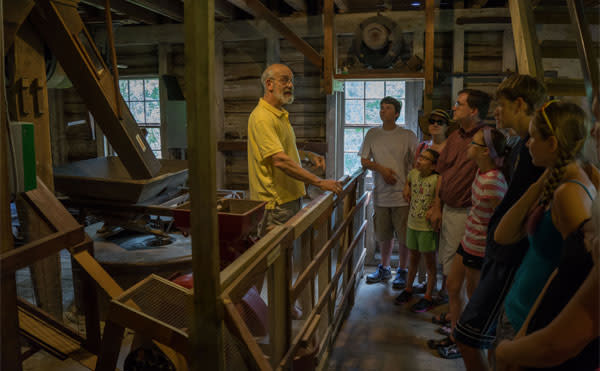 Morris Arboretum Grist Mill Demonstration Day