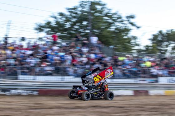 Rockford Speedway Blurry