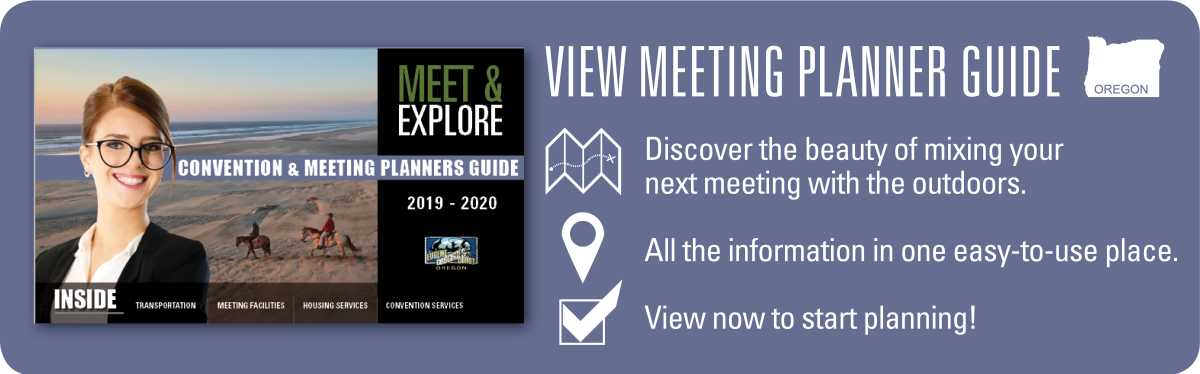 Meeting Planner Promo by Eugene, Cascades & Coast