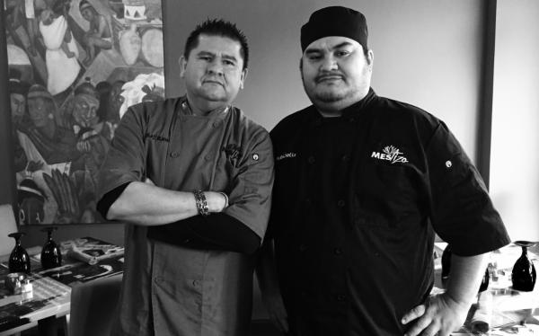 Mestizo Contemporary Mexican Cuisine chefs
