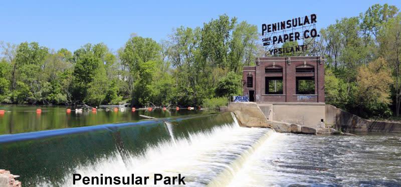 Peninsular Park, Ypsilanti