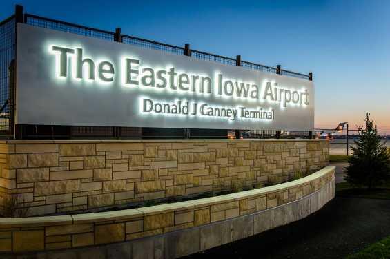 Eastern Iowa Airport Welcome