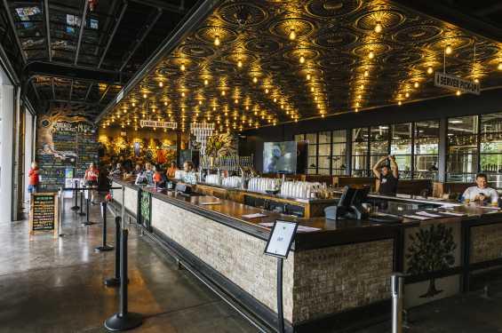 Big Grove Brewery Bar