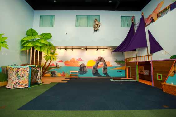The Theatre Space in The Iowa Children's Museum