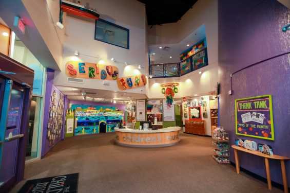 Lobby of The Iowa Children's Museum