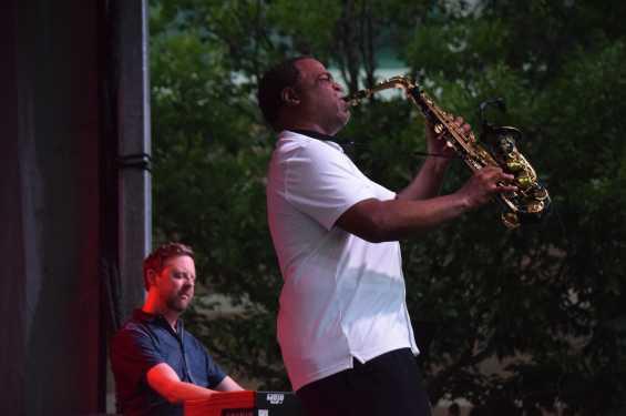 Damani Phillips at 2018 Iowa Soul Festival