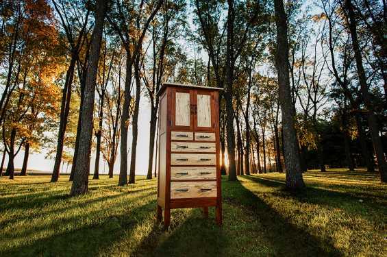 Walnut/Spalted Maple Cabinet